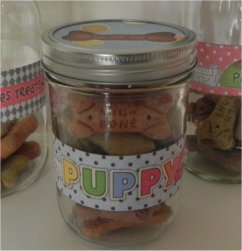 Doggie Treat Jars