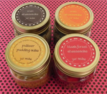 labels on jars